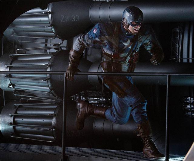 Captain America : First Avenger : Photo Chris Evans, Joe Johnston