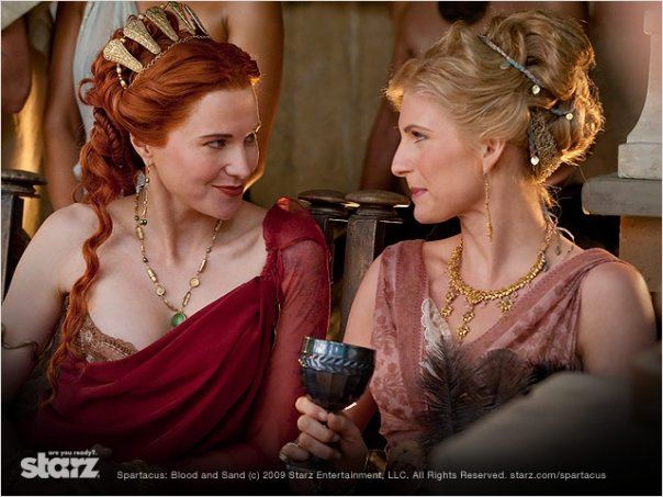 Spartacus : Le sang des gladiateurs : Photo Lucy Lawless, Viva Bianca