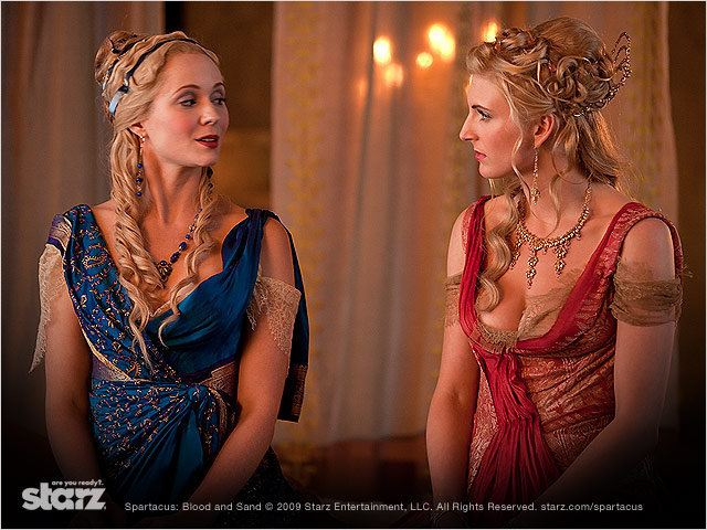 Spartacus : Photo Lucy Lawless, Viva Bianca