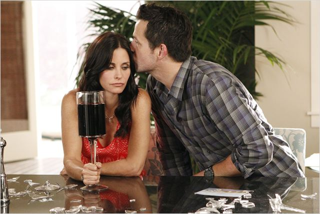 Photo Courteney Cox, Josh Hopkins