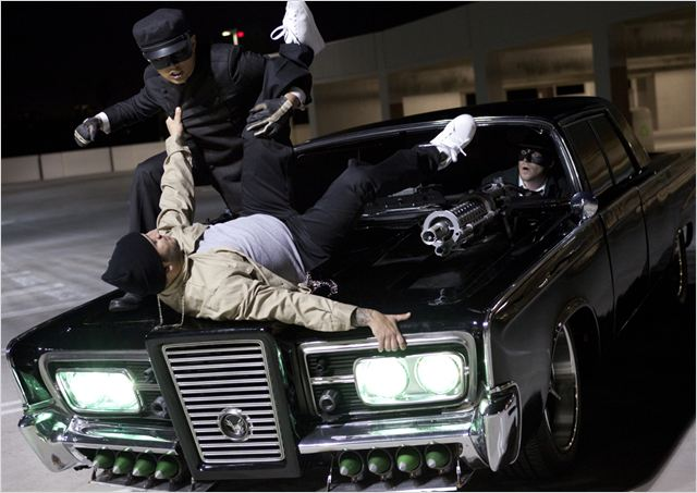 The Green Hornet : Photo Jay Chou, Michel Gondry