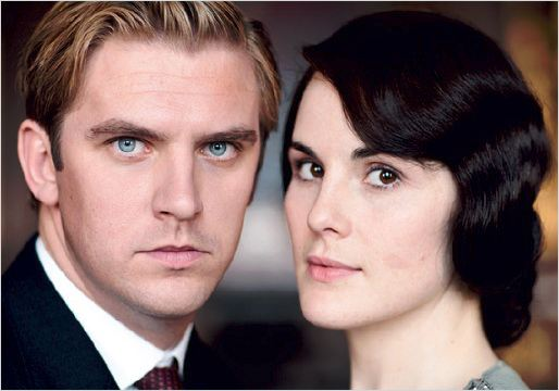 Downton Abbey : photo Dan Stevens, Michelle Dockery