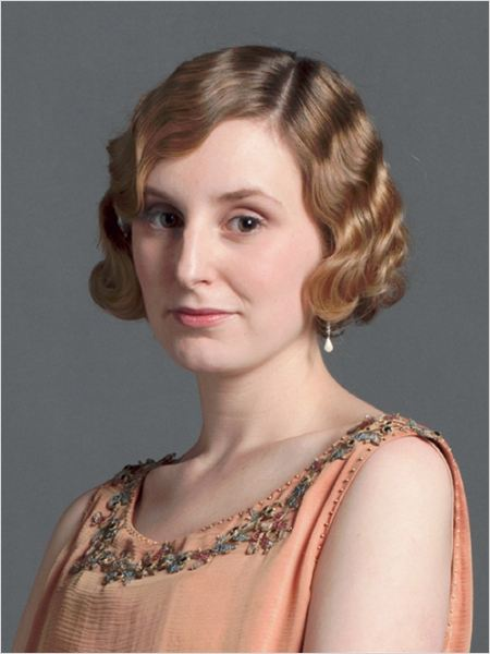Downton Abbey : photo Laura Carmichael