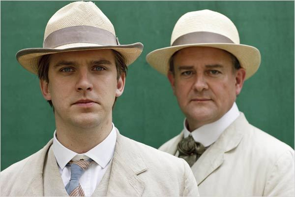 Downton Abbey : Photo Dan Stevens, Hugh Bonneville
