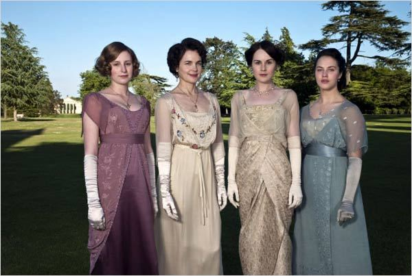 Downton Abbey : Photo Elizabeth McGovern, Jessica Brown Findlay, Laura Carmichael, Michelle Dockery