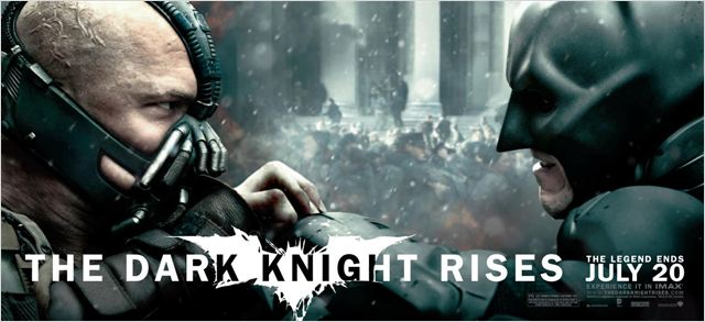The Dark Knight Rises : Affiche Christian Bale, Christopher Nolan, Tom Hardy