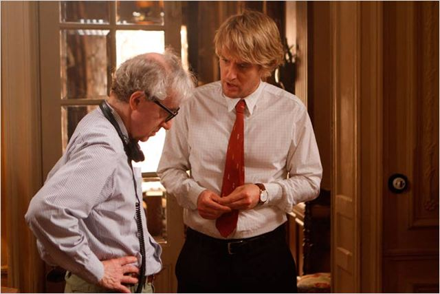 Minuit à Paris : photo Owen Wilson, Woody Allen