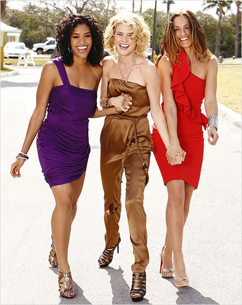 Photo Annie Ilonzeh, Minka Kelly, Rachael Taylor