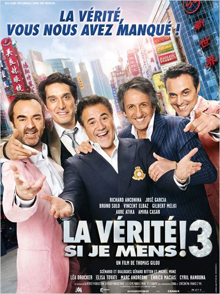 [MULTI]  La Vérité si je mens ! 3 [DVDRIP] [FRENCH]
