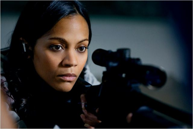 Colombiana : photo Olivier Megaton, Zoe Saldana