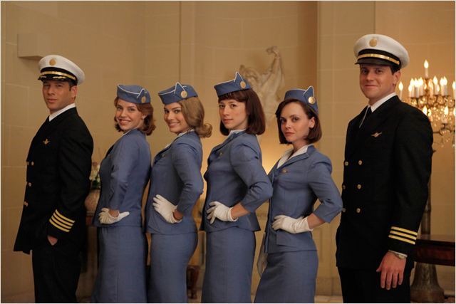 Pan Am : photo Jonah Lotan, Karine Vanasse, Kelli Garner, Margot Robbie, Michael Mosley