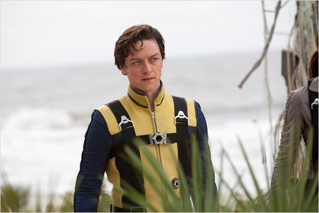 X-Men: Le Commencement : photo James McAvoy, Matthew Vaughn