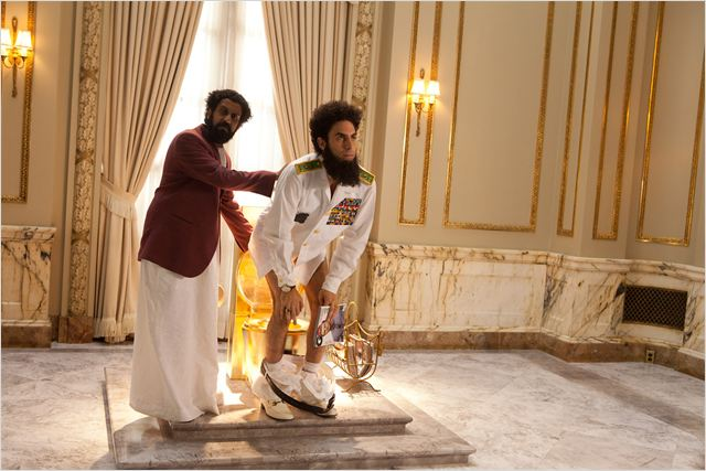 The Dictator : photo Sacha Baron Cohen