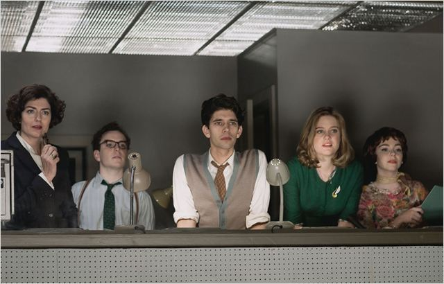 The Hour (2011) : photo Anna Chancellor, Ben Whishaw, Dominic West, Josh McGuire, Lisa Greenwood