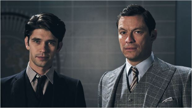 The Hour (2011) : photo Ben Whishaw, Dominic West