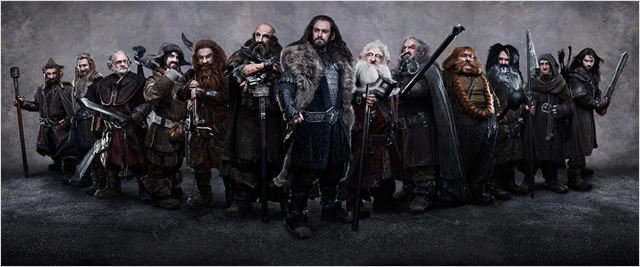 Le Hobbit : un voyage inattendu : photo Adam Brown, Aidan Turner, Dean O'Gorman, James Nesbitt, Jed Brophy
