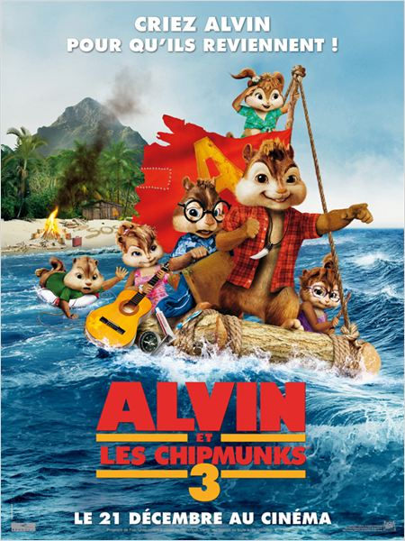 Alvin et les Chipmunks 3 Streaming Film