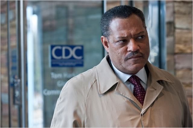 Contagion : photo Laurence Fishburne