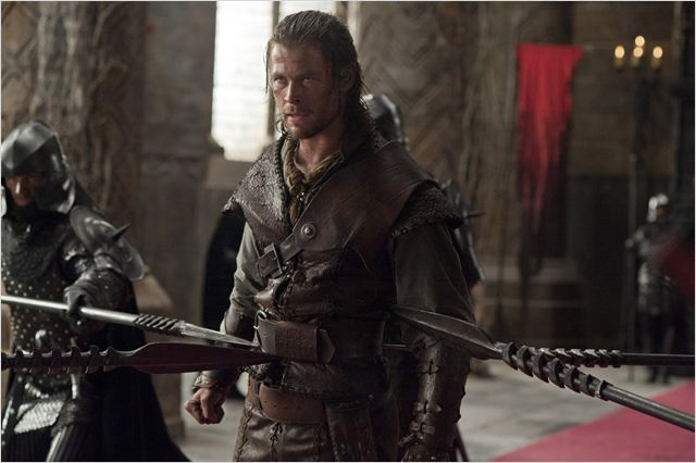 Blanche-Neige et le chasseur : photo Chris Hemsworth