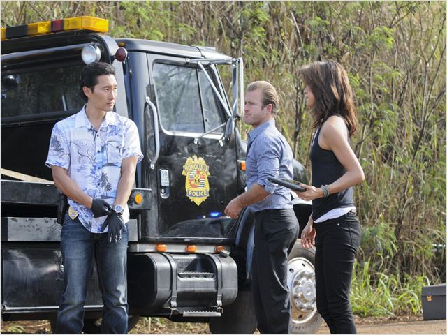 Photo Daniel Dae Kim, Grace Park, Scott Caan
