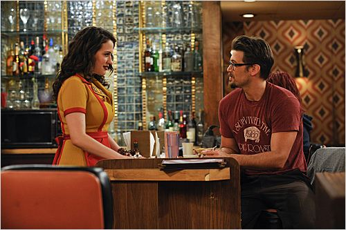 2 Broke Girls : photo Kat Dennings, Nick Zano