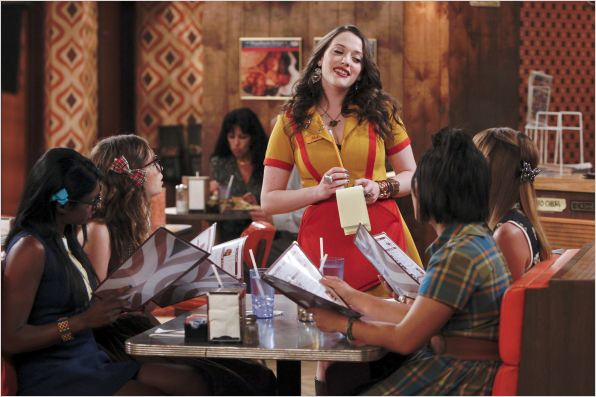 2 Broke Girls : photo Kat Dennings