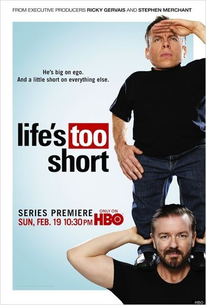Life's Too Short : photo Ricky Gervais, Stephen Merchant, Warwick Davis