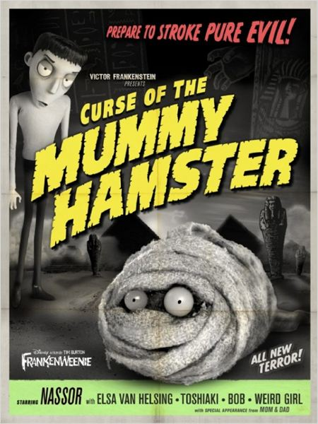 Frankenweenie : affiche