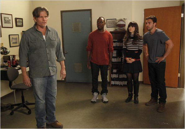 New Girl : photo Jake M. Johnson, Jeff Kober, Lamorne Morris, Zooey Deschanel