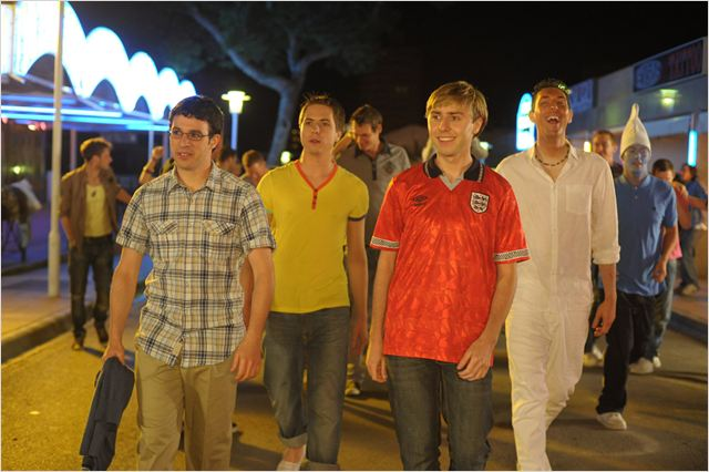 Les Boloss : photo Ben Palmer, Blake Harrison, James Buckley, Joe Thomas, Simon Bird