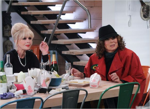 Absolutely Fabulous : photo Jennifer Saunders, Joanna Lumley