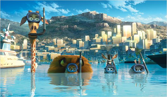 Madagascar 3, Bons Baisers D'Europe : Photo Eric Darnell