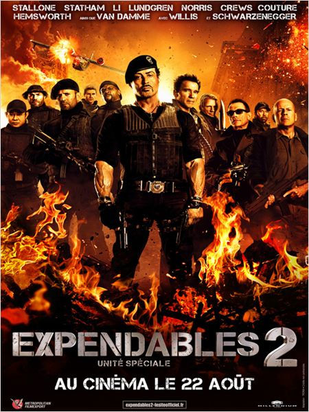 The Expendables 2 (2012) [VOSTFR] [BRRiP] [MULTI]