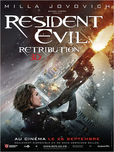 Resident Evil: Retribution ddl