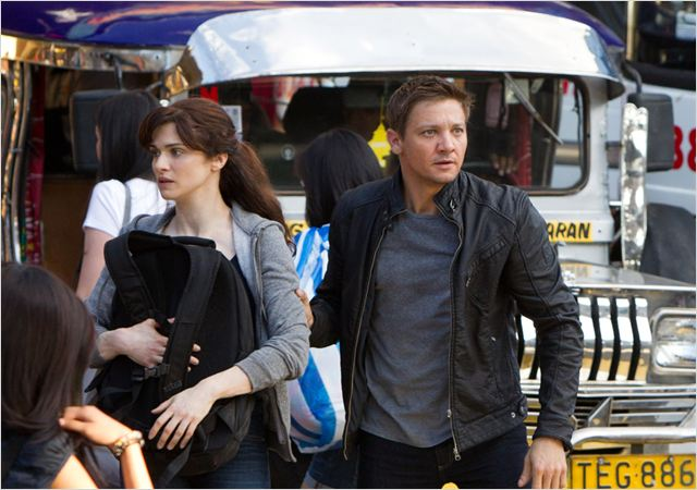 Jason Bourne : l'héritage : Photo Jeremy Renner, Rachel Weisz