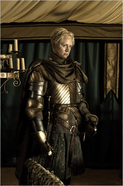 Game of Thrones : photo Gwendoline Christie