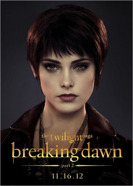 Twilight - Chapitre 5 : Révélation 2e partie : affiche Ashley Greene