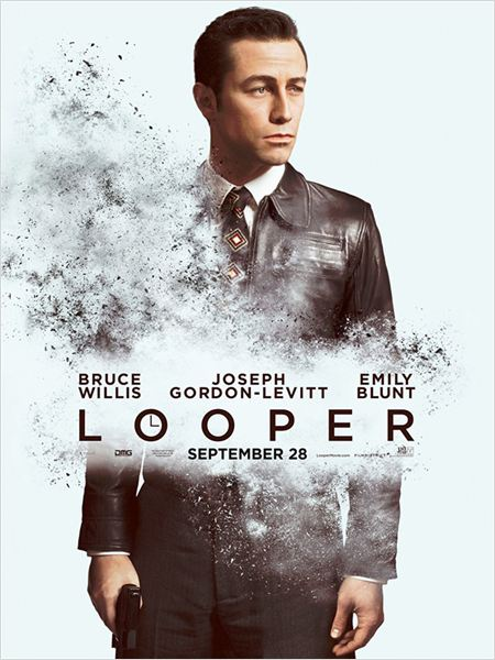 Looper : affiche Joseph Gordon-Levitt
