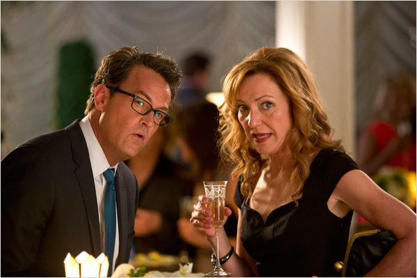 Go On : photo Julie White, Matthew Perry