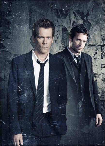 The Following : Photo James Purefoy, Kevin Bacon