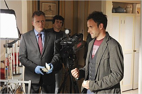 Elementary : photo Aidan Quinn, Jonny Lee Miller