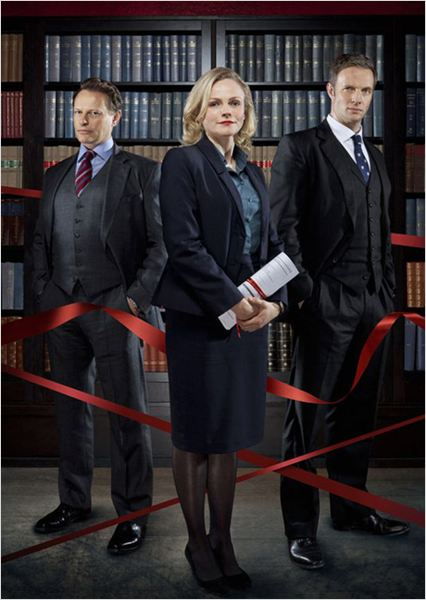 Silk : photo Maxine Peake, Neil Stuke, Rupert Penry-Jones