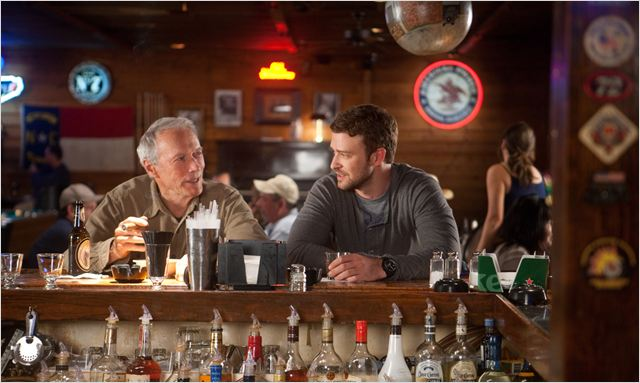 Une nouvelle chance : Photo Clint Eastwood, Justin Timberlake