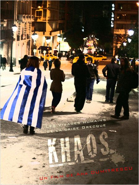 Khaos, les visages humains de la crise grecque : affiche