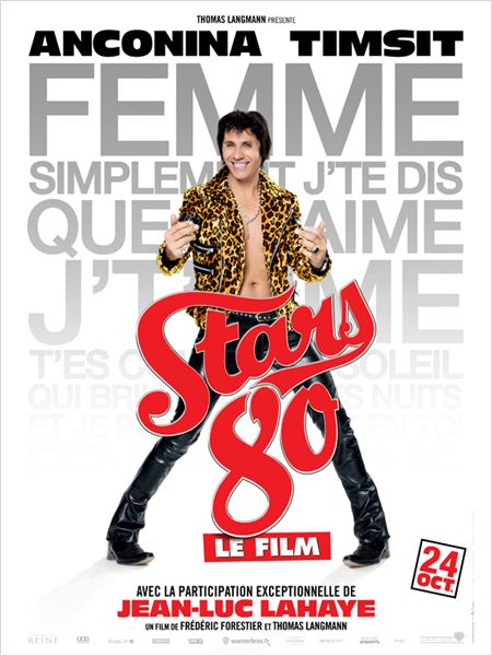 Stars 80 : Affiche Frédéric Forestier, Jean-Luc Lahaye