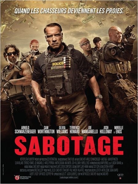 Telecharger Sabotage  TrueFrench DVDRIP Gratuitement
