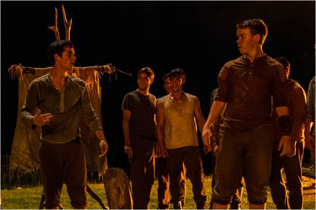Le Labyrinthe : Photo Dylan O'Brien, Will Poulter