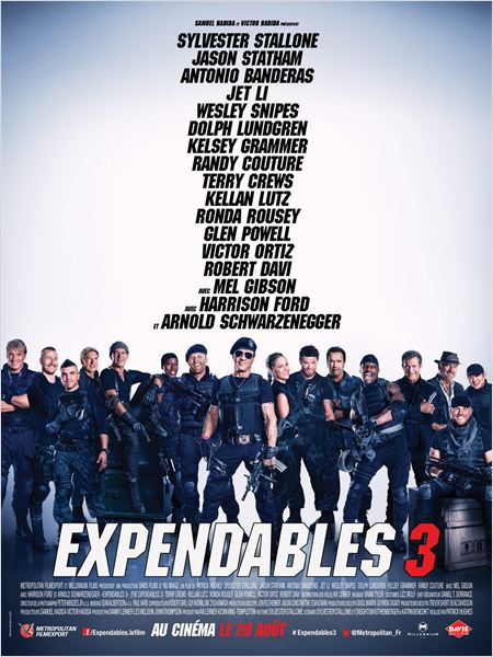 Telecharger Expendables 3 FRENCH DVDRIP Gratuitement