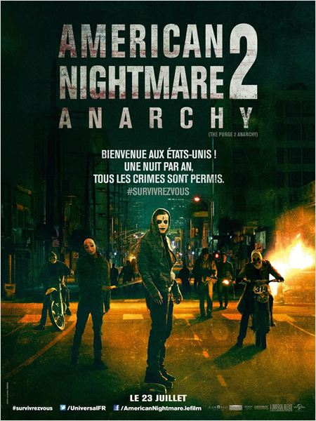 American Nightmare 2 : Anarchy  [TRUEFRENCH-CAM-MD]