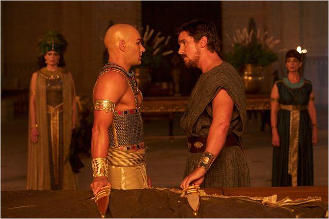Exodus: Gods And Kings : Photo Christian Bale, Joel Edgerton